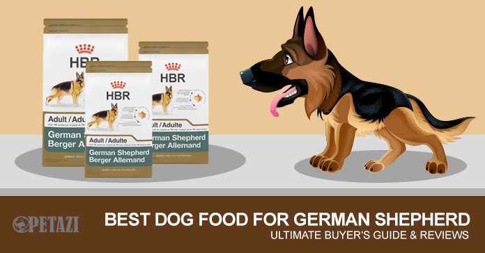 best dog food for German Shepherd - Ultimate buying guide