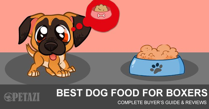 best dog food for boxers 2017 - complete buyer's guide & reviews
